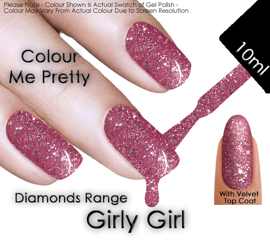 girly girl colour me pretty nails - Girly Pictures To Colour In