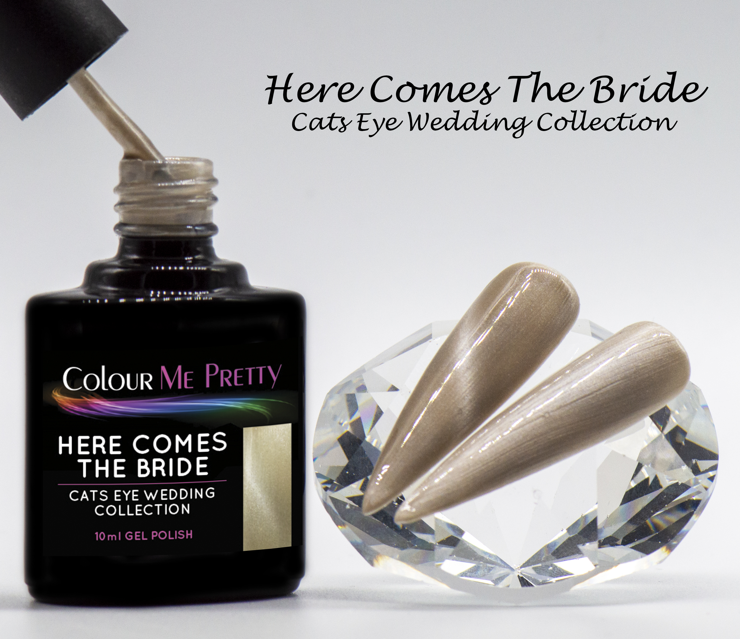 Cats Eye Wedding Here Comes The Bride