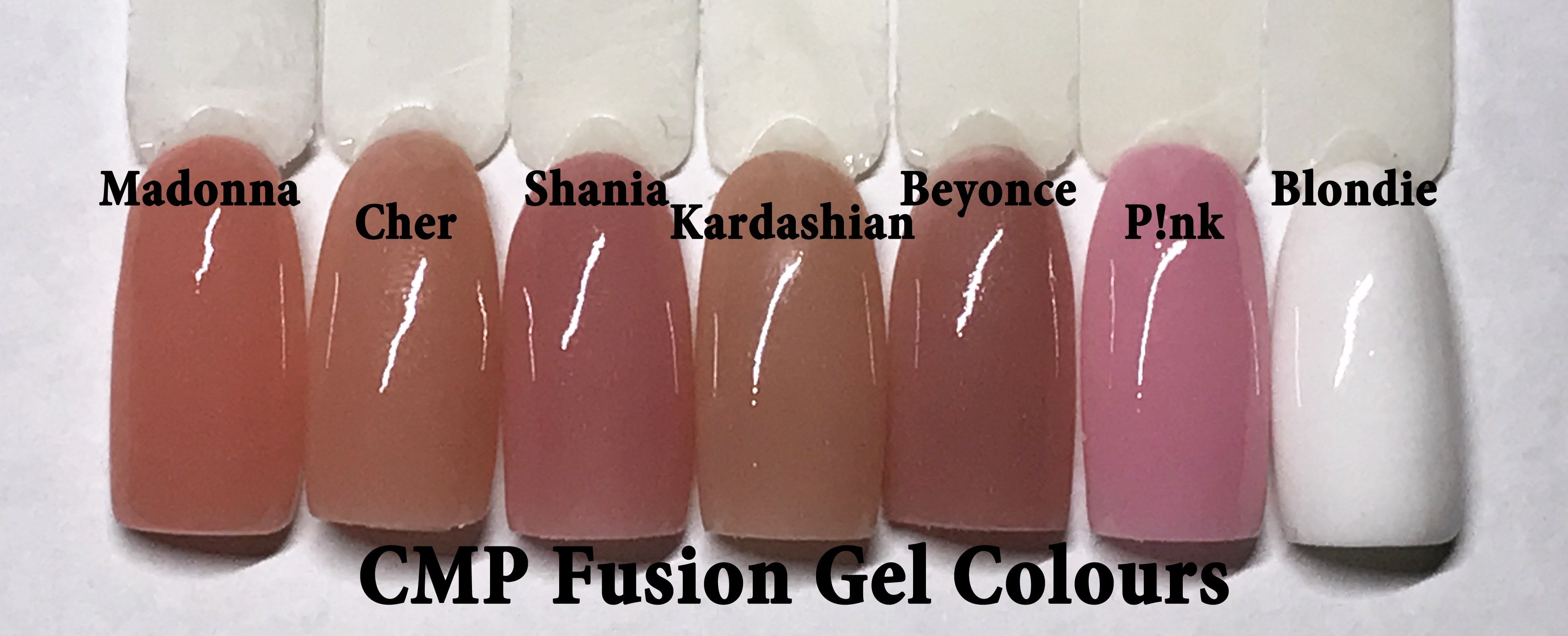 Fusion Gel Colours