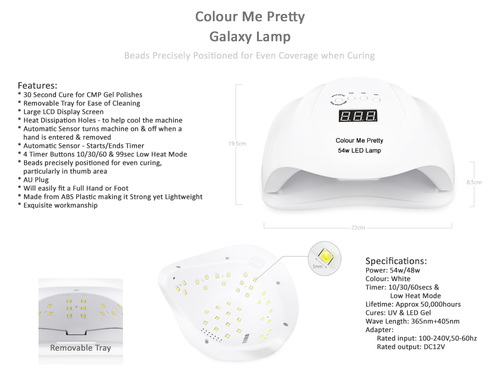 Galaxy Lamp Features