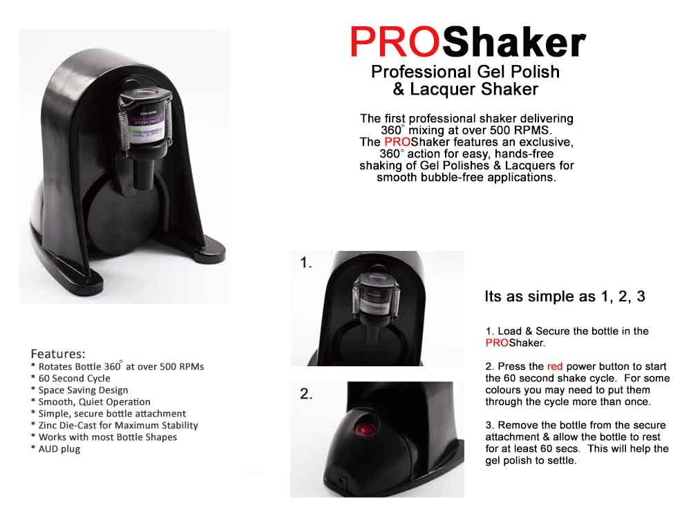 Shaker Features